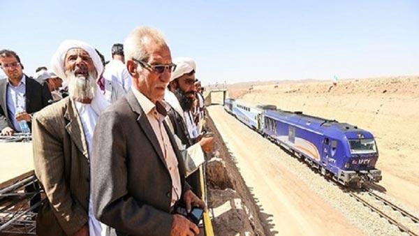 ورود اولین قطار خواف – هرات به افغانستان
