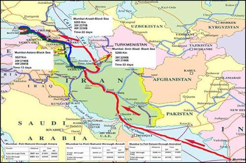 خط ترانزیتی کریدور شمال و جنوب رونق خواهد گرفت ؟