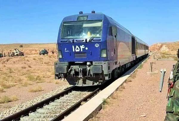 75 درصد از راه آهن خواف – هرات به زودی به بهره برداری می رسد