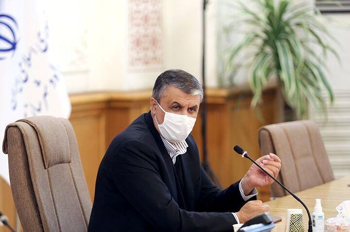 اتصال خط ترانزیتی ایران به عراق و سوریه
