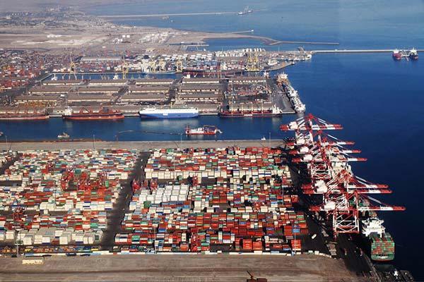 رشد 49 درصدی صادرات در بندر شهید رجایی